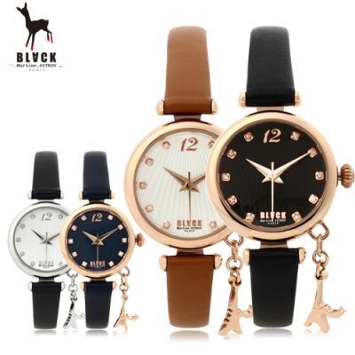 [블랙마틴싯봉] 여성 가죽 손목시계 BKL1512L