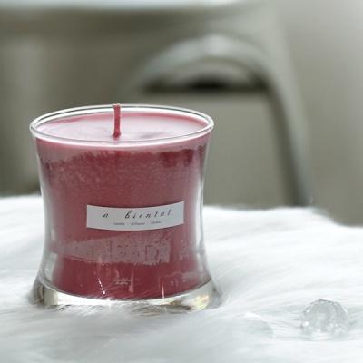 S라인 캔들 210g(핑크-체리블라썸)