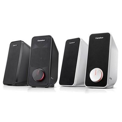 [캔스톤] 스피커 LX-3000 ECLIPSE (2채널 / USB전원 / 헤드폰 & 마이크 단자 / 에어 덕트 시스템 / 정격출력 12W)