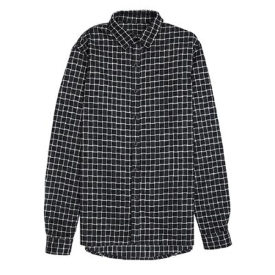 [게타] Getta Check patterned shirt (Grey)