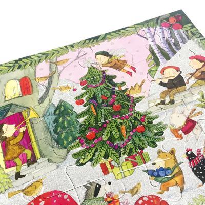 유아퍼즐 이부 숲 속의 크리스마스 20피스