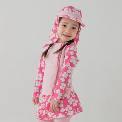 핑크 블러썸 유아 래쉬가드 2종세트(1-9세) 203816