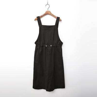 Cotton String Overall Dress