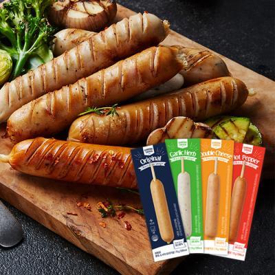 [원더그린] 감동닭 뽀득 소시지 4종 버라이어티 10팩