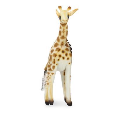 6416 기린 동물인형 키체인/14cm.H