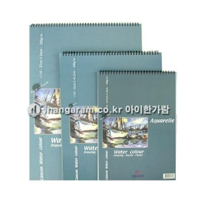 CANSON 엠보싱 스케치북 200g/㎡  8절