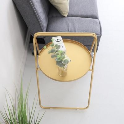 온나 원형 접이식 라운드 티테이블