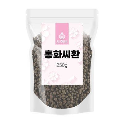 국산 홍화씨환 250g
