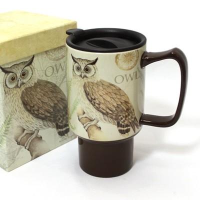 세라믹 트래블머그-Owl (LMCT - 10)