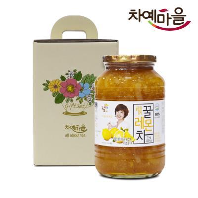 차예마을 레몬 차 꿀 과일 청 선물세트