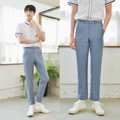 [하복][허리조절] 스판 청색 교복바지(남자)