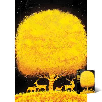 1000피스 직소퍼즐 일러스트 황금 나무 AL3022
