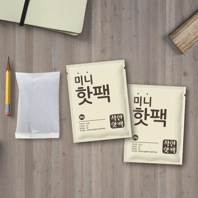 붙이는 착한 핫팩 미니 군용 대용량 (100매)