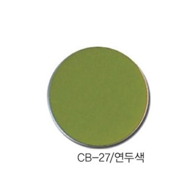 [현진아트] CB단면칼라우드락 5T 6X9 CB-27 연두색 [장/1]  114456