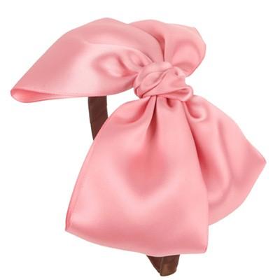 [헤어보우]Lulu헤어밴드-Lt.pink