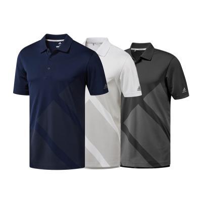 아디다스골프 3스트라이프 남성용 반팔 티셔츠