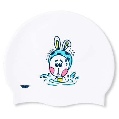 제이커스 실리콘수모 JK-160C_물에 빠진 토끼