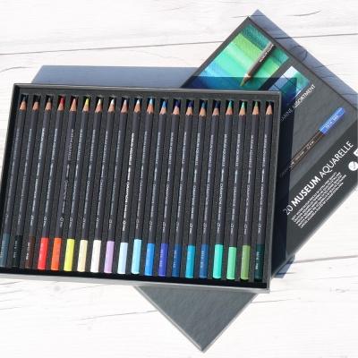 까렌다쉬 수채색연필 뮤지엄 20색 3510.920 Marine