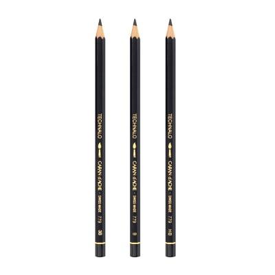 [CARAN DACHE] 스케치/워시드로잉에 적합한 TECHNALO 779..까렌다쉬 수용성 연필 테크나로 메탈케이스 1다스 (12자루)