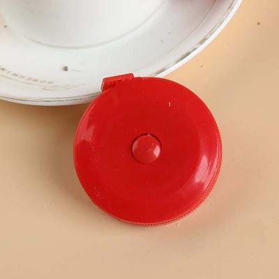 비비 원형 미니줄자(1.5M) (레드)