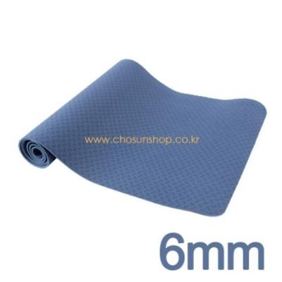 아이워너 TPE 고급 요가매트 6mm(파랑)