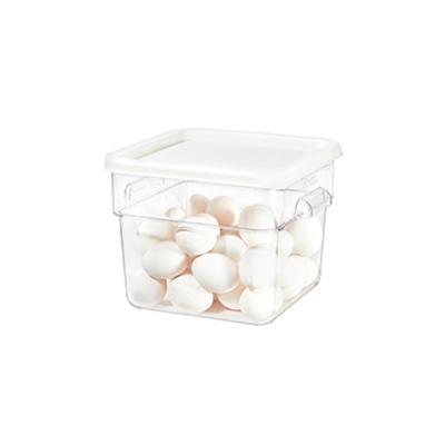주방 공간활용 야채 과일 김치보관 투명보관박스 6.4L