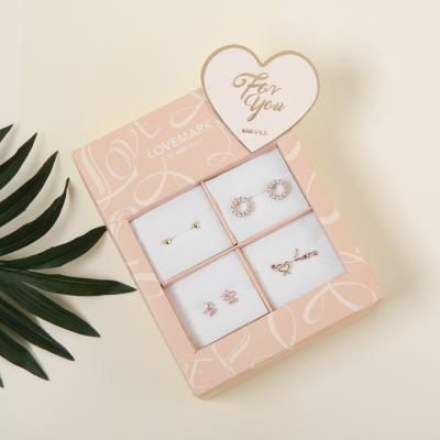 [미니골드] 네모의 베이지 주얼리 꿈 기프트 박스