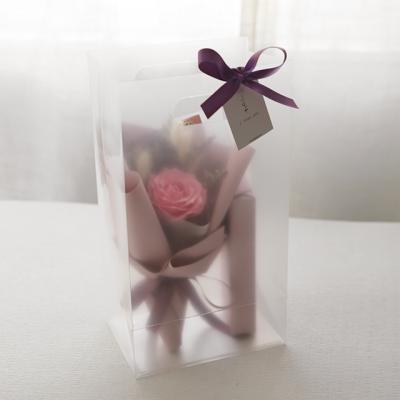 빅로즈꽃다발 1+1 막대과자선물set