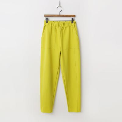 Tencel Cotton Straight Pants