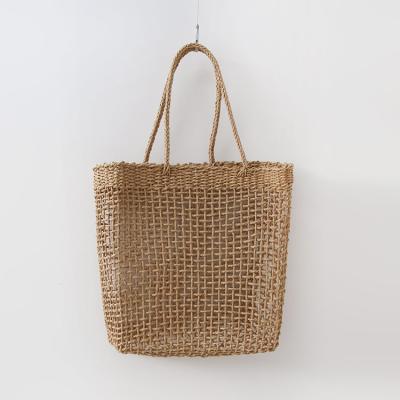 Rattan Square Shoulder Bag