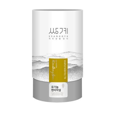 [쌍계명차] 지관 유기농 현미작설 80g
