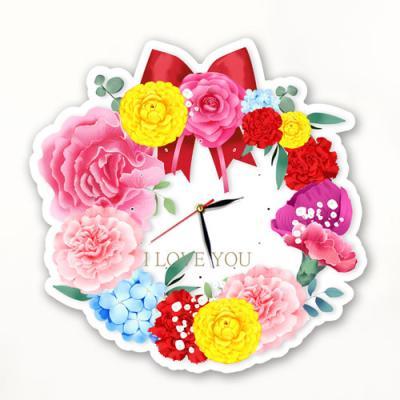 nz148-인테리어벽시계_꽃보다아름다운그대를사랑합니