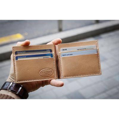 이비그 가죽 머니클립 지갑