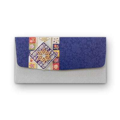 035-ME-0053 / 푸른 자개 축하봉투