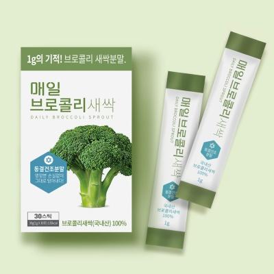 매일 브로콜리 새싹 분말 수경재배 국내산 (30스틱)