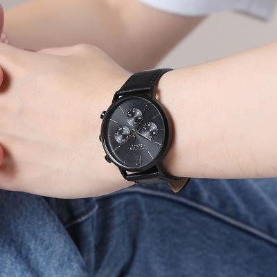 [쥴리어스 옴므 공식] JAH-101 남성시계 가죽시계