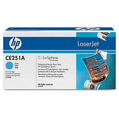 HP TONER CE251A / Cyan  / Color Laserjet CM3530/CP3525 / 7,000P