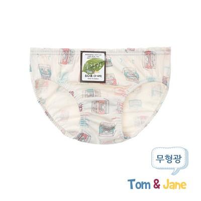 [탐앤제인]무형광 여아팬티_러브레터