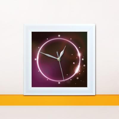 iw026-환상의빛미니액자벽시계_디자인액자시계