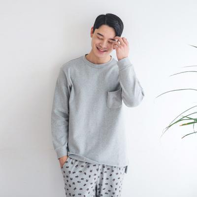 [쿠비카]도트 베어 긴소매 남성잠옷 BNBR-M072