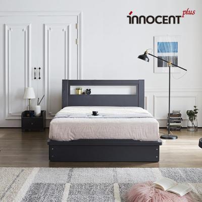 [이노센트] 리브 라이젠 LED 평상형 침대 Q/K