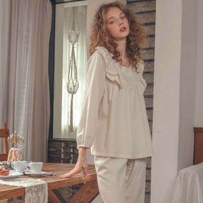 Angel 날개 프릴 홈웨어투피스 잠옷