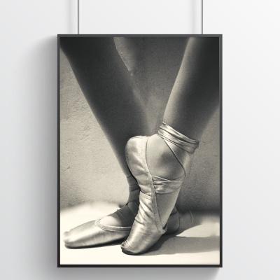 발레리나의 토슈즈3 - 홈데코 포스터
