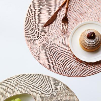 글리터쉐도우 원형 테이블매트 2color