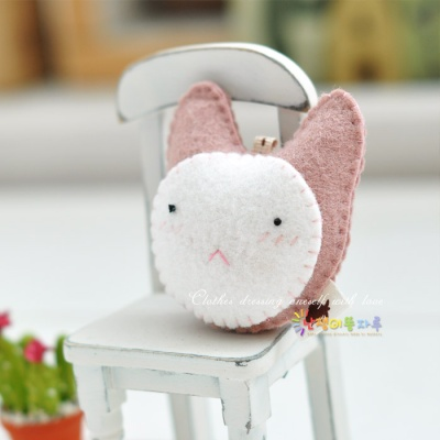 [DIY] 핑크 토끼 핸드폰고리 만들기 세트