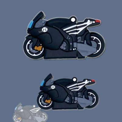 에어팟 1 2세대 특이한 인싸 오토바이 실리콘 케이스