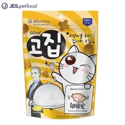 제일펫푸드 뉴트리웰 고집 (치킨) (60g) (고양이간식)