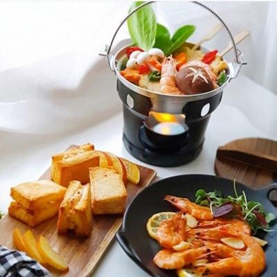 일본식 가정용 미니 화로대 풀세트 전골 냄비 포함