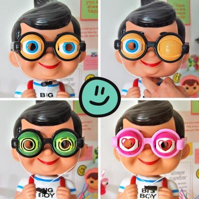 깜빡이는 눈 파티 안경(3종)