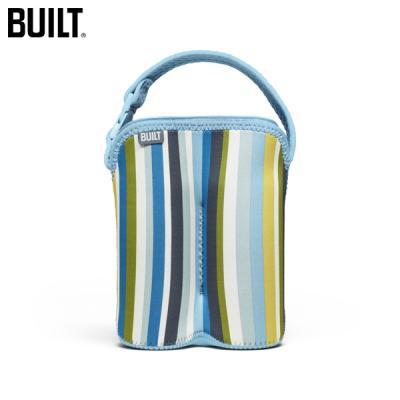 [빌트뉴욕] 투 보틀버디(Bottle Buddy  Two Bottle Tote-Baby Blue Stripe)/BBYBBD2BYS